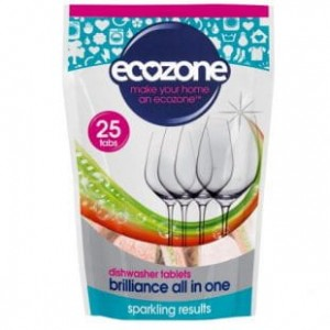 ECOZONE Tabletki do zmywarki 5w1 Brilliance All in One 25szt.