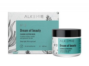ALKEMIE Dream of Beauty wyciszająca nocna maska-krem MINI 15ml