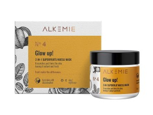 ALKEMIE Maska-peeling 2w1 Glow up! MINI 15ml